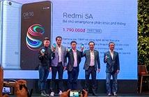 Xiaomi Redmi 5A ra mắt thị trường Việt: cấu hình phá đảo tầm giá dưới 2 triệu