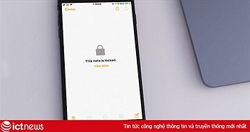 Cách đặt mật khẩu bảo vệ ghi chú quan trọng trên iPhone, iPad