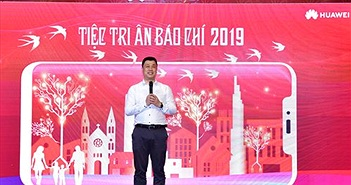 Huawei tại Việt Nam 2018: Doanh thu tăng gấp đôi, mục tiêu đứng thứ 2