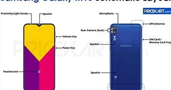 Samsung Galaxy M10 rò rỉ ảnh thực tế