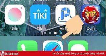 Những thao tác nhấn giữ trên Safari của iPhone