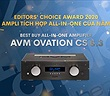 Editors' Choice Awards 2020 - AVM Ovation CS8.3 – Ampli tích hợp all-in-one của năm