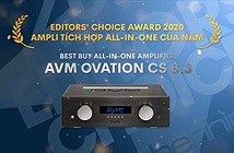 Editors Choice Awards 2020 - AVM Ovation CS8.3 – Ampli tích hợp all-in-one của năm