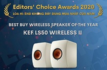 Editors Choice Awards 2020: KEF LS50 Wireless II - LOA KHÔNG DÂY ĐÁNG MUA NHẤT CỦA NĂM