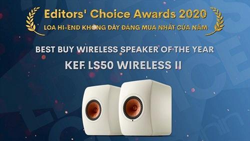Editors' Choice Awards 2020: KEF LS50 Wireless II - LOA KHÔNG DÂY ĐÁNG MUA NHẤT CỦA NĂM