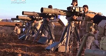 Kinh ngạc kho vũ khí của Quân đội Syria Tự do