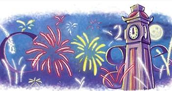 Tết Á và Âu với Doodle của Google