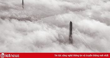 Minh oan cho bức ảnh cầu Cần Thơ trong mây của tiến sĩ Nhật Bản
