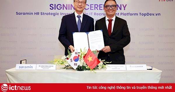 Nền tảng tuyển dụng IT TopDev nhận đầu tư triệu đô từ công ty Hàn Quốc