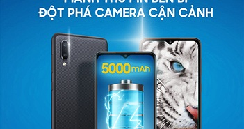 Samsung ra mắt Galaxy M02 pin bền bỉ, đột phá camera Macro giá 2,4 triệu