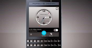 Porsche Design P'9983 Graphite giá 1950 USD - Siêu phẩm mới của BlackBerry