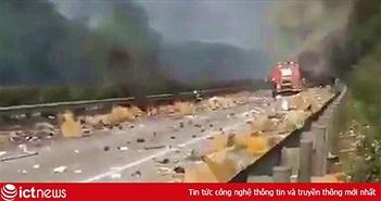 Xe chở lô iPhone phát nổ, nhiều thương lái Việt trắng tay?