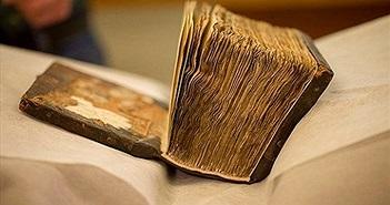 Hé lộ bí mật ẩn trong cuốn sách 1.400 tuổi khi đem chụp X-quang
