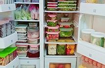 Cách tích trữ đồ trong tủ lạnh sạch sẽ, khoa học, tiết kiệm không gian