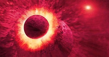Tìm thấy mảnh vỡ hành tinh chứng minh nguồn gốc Mặt trăng