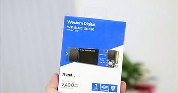 Đánh giá SSD WD SN550 Blue 1TB: Tạm biệt SSD SATA được rồi!