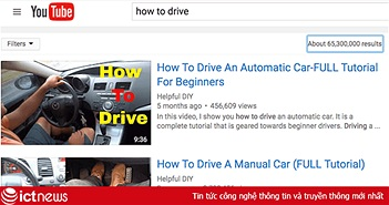 Bé trai 8 tuổi tự lái xe nhờ học qua YouTube