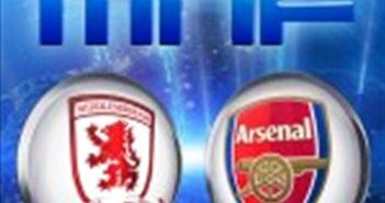 Trực tiếp Middlesbrough vs Arsenal (2h00 ngày 18/4)