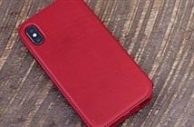 Không có iPhone X RED, mua ngay bao da đỏ Folio siêu đẹp này cho iPhone X