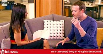 Phỏng vấn Zuckerberg, ê-kíp CNN bị theo dõi cả khi vào nhà tắm