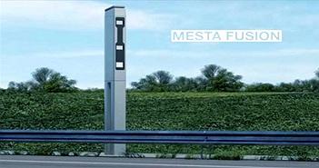 """Tháp pháo """"radar"""" giúp kiểm soát tốc độ của các phương tiện lưu thông và vượt đèn đỏ"""