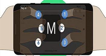 Đã có bàn phím chữ nổi ảo cho điện thoại Android