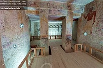 Cơ hội hiếm có: Tham quan miễn phí lăng mộ Ai Cập qua thực tế ảo