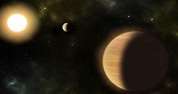 """Phát hiện """"Hệ Mặt trời"""" cổ đại có 2 hành tinh khổng lồ kinh dị"""