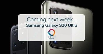 Samsung Galaxy S20 Ultra sẽ được xếp hạng DxOMark vào tuần tới, P40 Pro có thể mất vị trí đứng đầu?