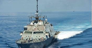Sức mạnh tàu chiến Mỹ tuần tra Biển Đông