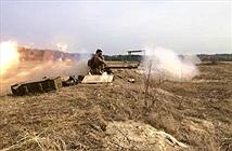Quan sát Quân đội Ukraine huấn luyện bắn súng