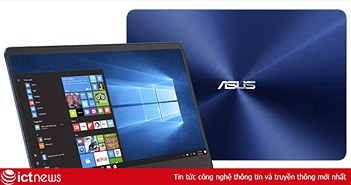 ASUS ra mắt laptop tốc độ cao, pin khủng ZenBook UX430