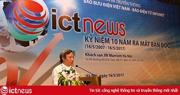 ICTnews cảm ơn các đối tác chúc mừng 10 năm ra mắt độc giả