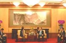 Chủ tịch Trần Đại Quang tiếp Chủ tịch Tập đoàn Huawei Tôn Á Phương