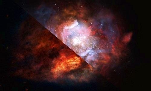 Loạt sao khổng lồ tiết lộ cách thiên hà tiến hóa