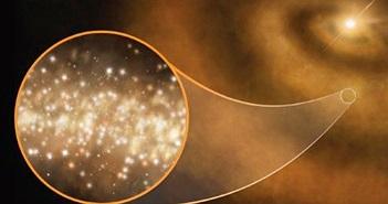 Phát hiện luồng bụi kim cương lấp lánh trong vũ trụ