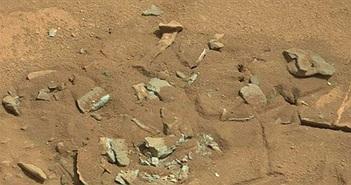 """Sự thật về bức ảnh """"xương người"""" ở bề mặt Hỏa Tinh"""