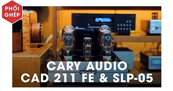 Pre & Poweramp đầu bảng Cary Audio phối ghép cùng siêu loa Kaiser Classic Brilliant Edition