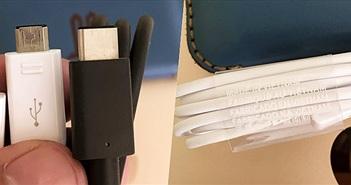 [Galaxy Note 7] Rò rỉ cáp USB-C cho Galaxy Note 7 - Made In Vietnam
