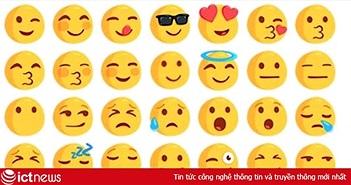 """""""Cười ra nước mắt"""" là biểu tượng khuynh đảo Google, Facebook và Twitter"""