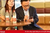 Galaxy Note 9 bị phát hiện đang được CEO Samsung sử dụng tại một cuộc họp báo