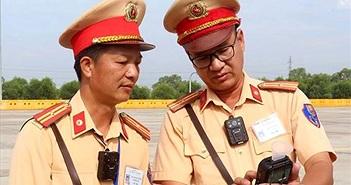 Camera giám sát mới được trang bị cho CSGT Việt Nam có gì đặc biệt?