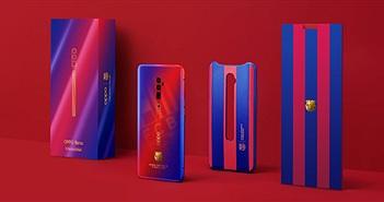 Oppo ra mắt phiên bản giới hạn Reno 10x Zoom FC Barcelona