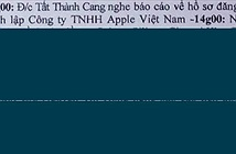 Apple sắp mở công ty tại Việt Nam?