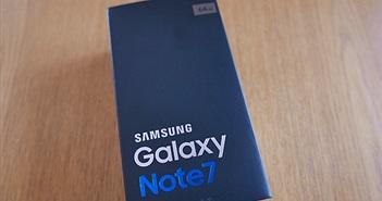 """Hình ảnh """"đập hộp"""" và trên tay Galaxy Note7 chính hãng tại Việt Nam"""