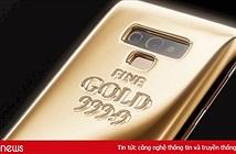 Ra mắt Galaxy Note 9 gắn 1kg vàng nguyên chất, giá 60.000 USD