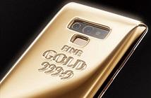Ngắm Galaxy Note 9 phiên bản vàng thỏi 1,4 tỷ đồng