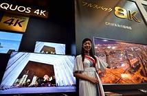 TV 8K đầu tiên trên thế giới có giá 133.000 USD