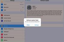 Dân mạng kêu trời vì không nâng cấp được iOS 9
