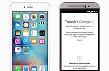 Apple hỗ trợ người dùng Android chuyển sang iPhone